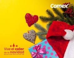 ¡Inicia la temporada navideña! Decora tus espacios con elementos coloridos y llamativos que liberen tu creatividad.  #ViveElColorDeLaNavidad #Comex #Home #Deco