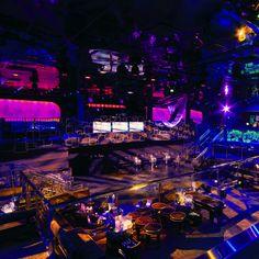 The Bank Las Vegas nightclub inside the Bellagio Hotel & Casino