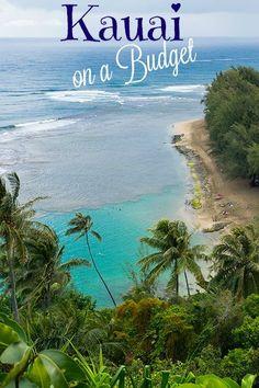 map of kauai towns | Map of Kauai island with roads and