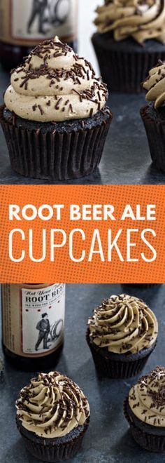 Root Beer Ale Cupcakes might just be your new favorite thing about summer. The perfect recipe for barbecues!