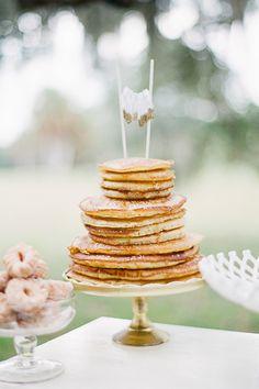 pancake cake! | Jessica Lorren #wedding