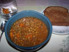 A guest post featuring three different recipes for vegetarian lentil dishes: lentil tacos, Snobby Joes, and tomato and lentil soup. Lentil Tacos, Lentil Stew, Lentil Recipes, Vegetarian Recipes, Yummy Recipes, Healthy Cooking, Healthy Eating, No Meat Athlete, Lentil Dishes