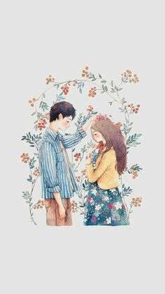 You are my sun when those rainy days come Love Illustration, Character Illustration, Cover Wattpad, Cute Couple Art, Cute Cartoon Wallpapers, Anime Art Girl, Love Art, Cartoon Art, Cute Drawings