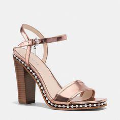 COACH Designer Sandals | Farrah Heel