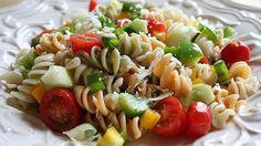 Diez platos para tomar fríos este verano sin perder el tiempo en la cocina, Ensalada de pasta