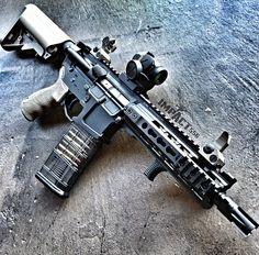 SBR defense rifle