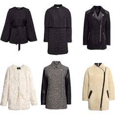 """""""Hm"""" by stylishline on Polyvore Coats from HM - great prices!"""