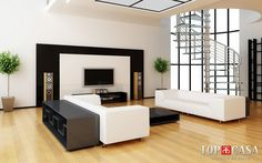 Enhance living room with minimalist decoration. Minimalist living room designs will be your functional area for gathering with guests. Living room is the i Decoration Design, Deco Design, Design Design, Design Homes, Design Firms, Design Trends, Modern Design, Minimalist Interior, Minimalist Living