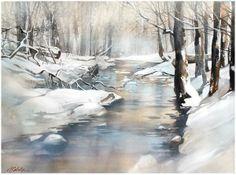 Thomas W. Schaller「stream ohio」