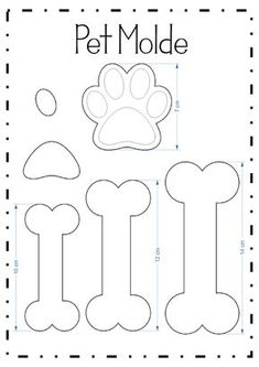 Kitty paw pencil tip (Pet molds) - Patchwork/nähen - Bolo Paw Patrol Cake, Paw Patrol Party, Paw Patrol Birthday, Dog Birthday, Dog Crafts, Felt Crafts, Diy And Crafts, Puppy Party, Dog Pattern