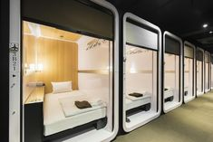 Kyoto Capsule Hotel – 5 Unique Places For Your Stay in Kyoto Capsule Hotel Japan, Sleep Box, Sleeping Pods, Hilton Hotels, Marriott Hotels, Hotel Safe, Futons, Great Hotel, Best Hotels