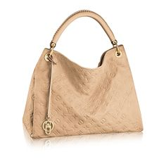 Discover Louis Vuitton Artsy MM via Louis Vuitton WANT this in red!
