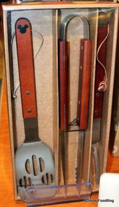 Mickey Mouse Grillmaster Tools, Disney Kitchen stuff