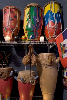 Haitian style drums