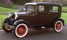 The Model A was the second generation of the widely popular Model T. It was the most popular car in the later 1920's and is often used as a depiction of the 20's culture. JK