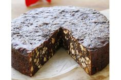 A traditional Italian dessert, panforte contains fruits and nuts -very similar to fruitcake.