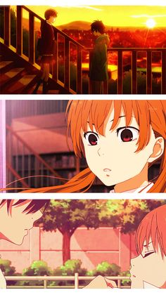 Tonari No Kaibutsu Kun / My Little Monster Gif ~ edited by me :)