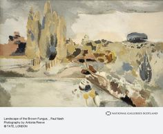 Paul Nash, Landscape of the Brown Fungus (1943)