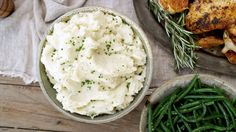 These easy mashed potatoes require just three ingredients, but don't sacrifice anything when it comes to flavor. Do yourself a favor and serve this simple but delicious side on Thanksgiving.