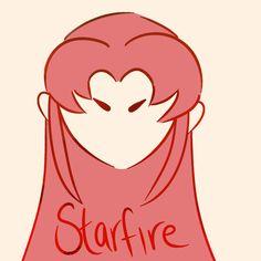 Teen Titans Starfire for ya.