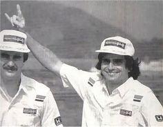 Mansell & Piquet.