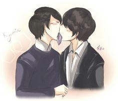 Kyumin: kissing card game by Fuko-chan.deviantart.com on @deviantART