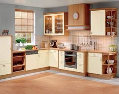 Kitchen wall cabinets are the focal points for most of the kitchens now a days. Although you do have the normal floor touch cabinets in place, the kitchen wall cabinets take away all the attention. New Kitchen Cabinet Doors, Kitchen Cabinet Interior, Buy Kitchen Cabinets, Contemporary Kitchen Cabinets, Kitchen Cabinet Storage, Interior Design Kitchen, Kitchen Furniture, Storage Cabinets, Furniture Ideas