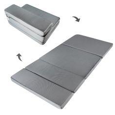 Save $215.00 on LUCID by LinenSpa 4 Folding Memory Foam Mattress 3-Year Warranty; only $84.99 + Free Shipping
