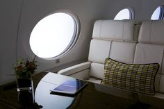 Gulfstream Private Jet - Fly faster and farther than any aircraft Gulfstream G650, Private Jet Interior, Jet Fly, Contemporary Cabin, Luxury Jets, Aircraft Interiors, Luxury Life, Tours, Flooring