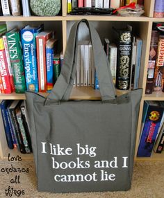 Library Book Bag - want this so bad!