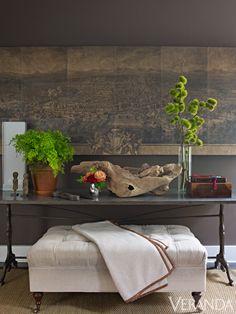 Sleek New York Brownstone - Cristina Azario Design - Veranda New York Brownstone, Living Room Remodel, Living Room Decor, Living Rooms, Home Interior Design, Interior Decorating, Interior Design Business, Room Interior, Sweet Home