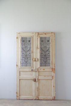 フランスアンティーク 観音開きアイアンドア(1404012) - boncote | アンティークドアの直輸入 建具大量在庫