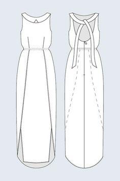 Drew Backless Dress