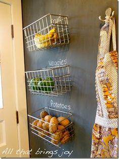 Great DIY Fruit Storage Ideas for Better Kitchen Organization
