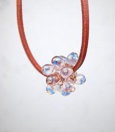 Sputnik Collection // Contemporary Jewelry // Murano Glass Jewelry // by melaniemoertel