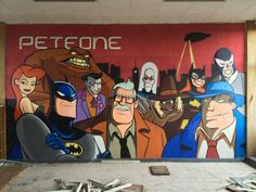 Click the link ! Awesome graffitti in Belgium. http://geektyrant.com/news/spectacular-batman-graffiti-found-in-abandoned-building