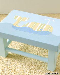 Decoupage Ideas for the Nursery - Martha Stewart Decorating by Room
