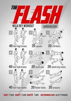 By neila rey - the flash workout Hero Workouts, Gym Workout Tips, Workout Challenge, At Home Workouts, Workout Plans, Exercise Plans, Week Workout, Workout Routines, Workout Fitness