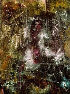 Mark Tobey, Sopra la terra, 1953, tecnica mista. Filosofia estremo-orientale, cultura visiva giapponese.