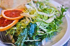 Kale and Fennel Salad with Orange Vinaigrette