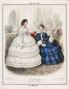 Le Bon Ton March 1857 LAPL
