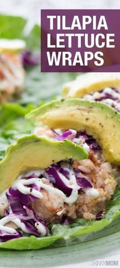 These lettuce wraps will be a hit with your friends and family! Click for the full recipe.