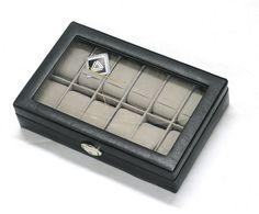 Fortjener dine ure et sikkert opbevaringssted, når de ikke er på dit håndled? Så er denne urkasse lige noget for dig. Pris 799,- http://www.smykke-portalen.dk/urkasse-glas-laag-p-191.html #Smykkeportalen #Uretsbedsteven #aarhus #jylland