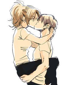 Hanji and Levi || AoT *_________________*