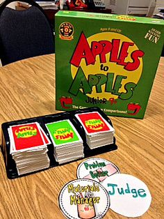 apples to apples with social skills