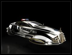 Valkyrie Alphawing - Image D - Police Car Version by MadMaximus83