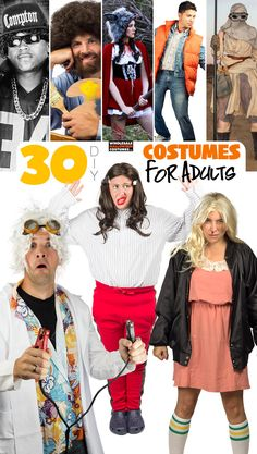 30 diy costumes accessories for adults