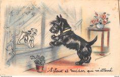 "Bouret, Germaine - ¤¤ - Illustrateur "" Germaine BOURET "" - Chien - Médor - ¤¤"