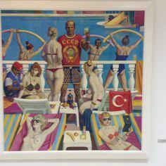 Alma Mater, Baseball Cards, Painting, Art, Art Background, Painting Art, Kunst, Paintings, Performing Arts