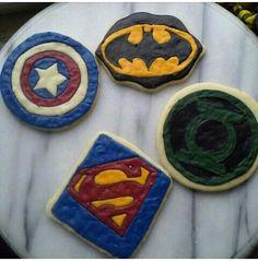 Superheroes cookies
